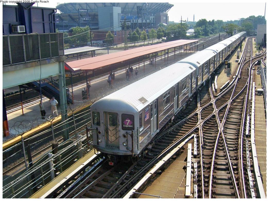 (340k, 1044x783)<br><b>Country:</b> United States<br><b>City:</b> New York<br><b>System:</b> New York City Transit<br><b>Location:</b> Corona Yard<br><b>Car:</b> R-62A (Bombardier, 1984-1987)  2095 <br><b>Photo by:</b> Curtis Roach<br><b>Date:</b> 9/4/2008<br><b>Viewed (this week/total):</b> 1 / 2467