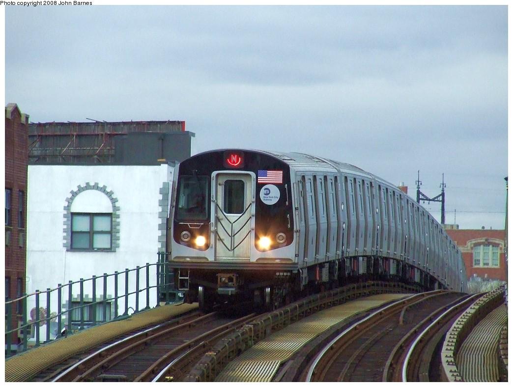 (217k, 1044x788)<br><b>Country:</b> United States<br><b>City:</b> New York<br><b>System:</b> New York City Transit<br><b>Line:</b> BMT Astoria Line<br><b>Location:</b> 30th/Grand Aves. <br><b>Route:</b> N<br><b>Car:</b> R-160A/R-160B Series (Number Unknown)  <br><b>Photo by:</b> John Barnes<br><b>Date:</b> 4/18/2007<br><b>Viewed (this week/total):</b> 0 / 1755