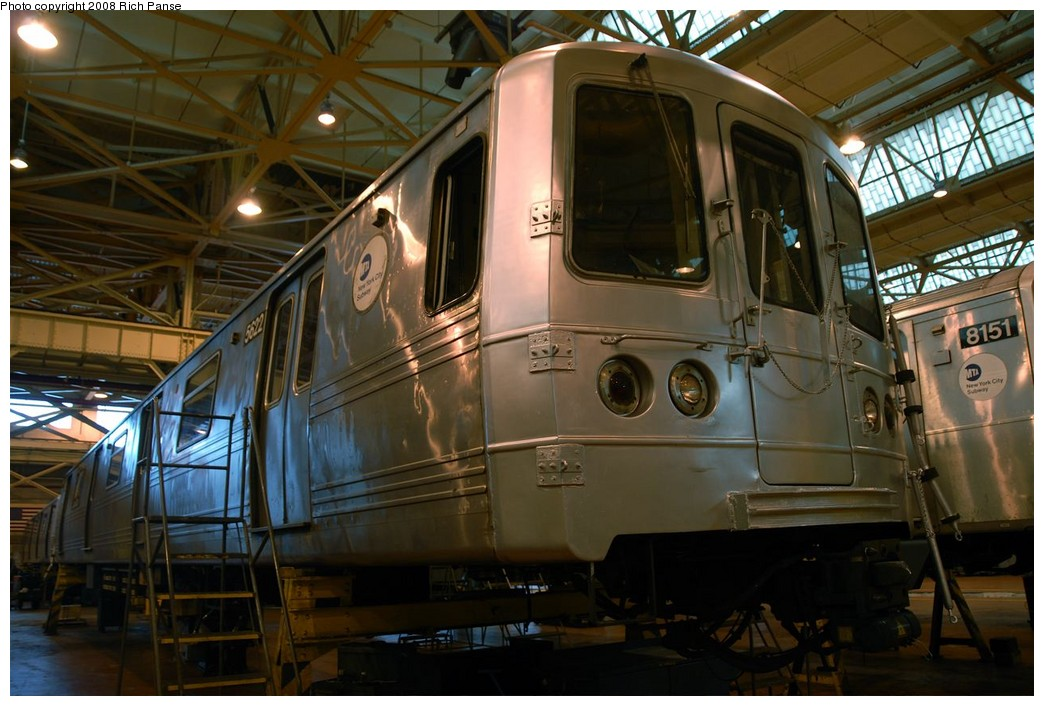 (184k, 1044x706)<br><b>Country:</b> United States<br><b>City:</b> New York<br><b>System:</b> New York City Transit<br><b>Location:</b> Coney Island Shop/Overhaul & Repair Shop<br><b>Car:</b> R-46 (Pullman-Standard, 1974-75) 5622 <br><b>Photo by:</b> Richard Panse<br><b>Date:</b> 9/13/2008<br><b>Viewed (this week/total):</b> 0 / 1243
