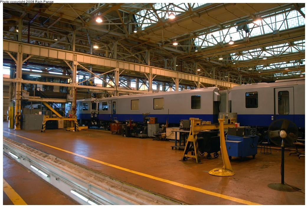(225k, 1044x706)<br><b>Country:</b> United States<br><b>City:</b> New York<br><b>System:</b> New York City Transit<br><b>Location:</b> Coney Island Shop/Overhaul & Repair Shop<br><b>Car:</b> Track Geometry Car TGC3/TGC4 <br><b>Photo by:</b> Richard Panse<br><b>Date:</b> 9/13/2008<br><b>Viewed (this week/total):</b> 4 / 1369