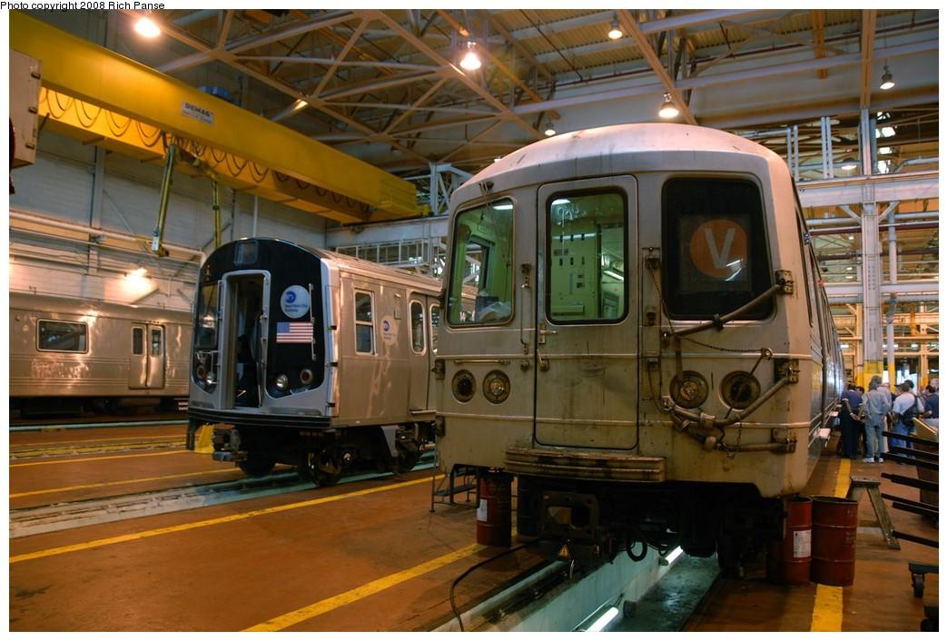 (200k, 1044x706)<br><b>Country:</b> United States<br><b>City:</b> New York<br><b>System:</b> New York City Transit<br><b>Location:</b> Coney Island Shop/Overhaul & Repair Shop<br><b>Car:</b> R-46 (Pullman-Standard, 1974-75)  <br><b>Photo by:</b> Richard Panse<br><b>Date:</b> 9/13/2008<br><b>Viewed (this week/total):</b> 0 / 1750