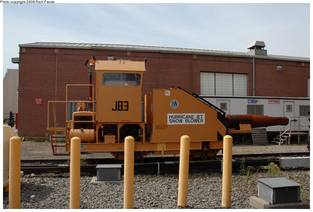 (218k, 1044x706)<br><b>Country:</b> United States<br><b>City:</b> New York<br><b>System:</b> New York City Transit<br><b>Location:</b> Coney Island Yard<br><b>Car:</b> Snowblower JB3 <br><b>Photo by:</b> Richard Panse<br><b>Date:</b> 9/13/2008<br><b>Viewed (this week/total):</b> 0 / 1239