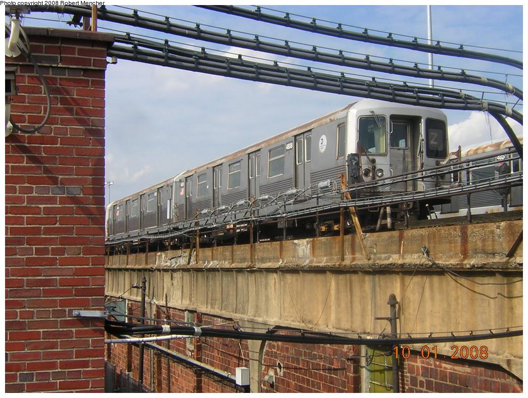 (305k, 1044x788)<br><b>Country:</b> United States<br><b>City:</b> New York<br><b>System:</b> New York City Transit<br><b>Location:</b> East New York Yard/Shops<br><b>Car:</b> R-42 (St. Louis, 1969-1970)  4808 <br><b>Photo by:</b> Robert Mencher<br><b>Date:</b> 10/1/2008<br><b>Viewed (this week/total):</b> 1 / 1205