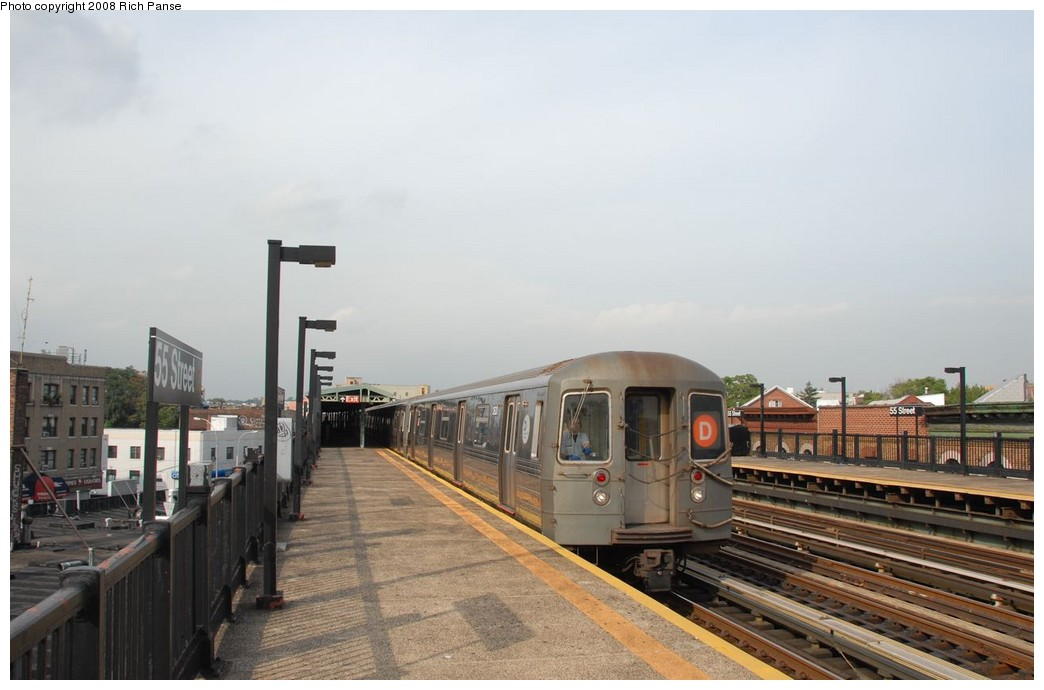 (140k, 1044x690)<br><b>Country:</b> United States<br><b>City:</b> New York<br><b>System:</b> New York City Transit<br><b>Line:</b> BMT West End Line<br><b>Location:</b> 55th Street <br><b>Route:</b> D<br><b>Car:</b> R-68 (Westinghouse-Amrail, 1986-1988)  2620 <br><b>Photo by:</b> Richard Panse<br><b>Date:</b> 9/13/2008<br><b>Viewed (this week/total):</b> 1 / 1082