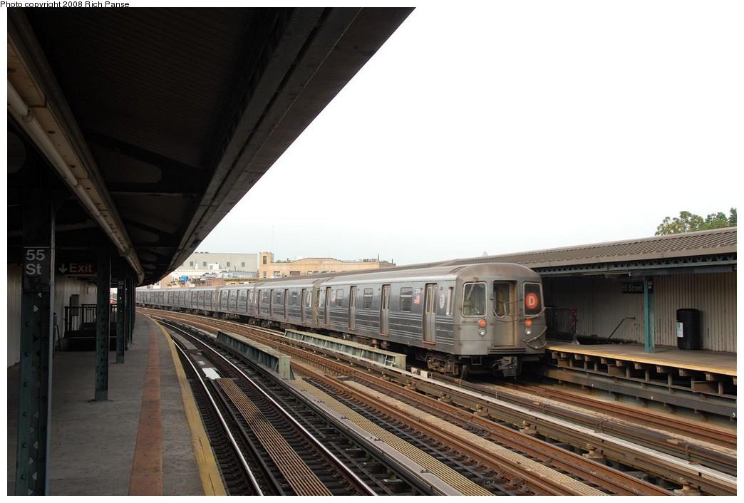 (160k, 1044x706)<br><b>Country:</b> United States<br><b>City:</b> New York<br><b>System:</b> New York City Transit<br><b>Line:</b> BMT West End Line<br><b>Location:</b> 55th Street <br><b>Route:</b> D<br><b>Car:</b> R-68 (Westinghouse-Amrail, 1986-1988)  2778 <br><b>Photo by:</b> Richard Panse<br><b>Date:</b> 9/13/2008<br><b>Viewed (this week/total):</b> 1 / 1229