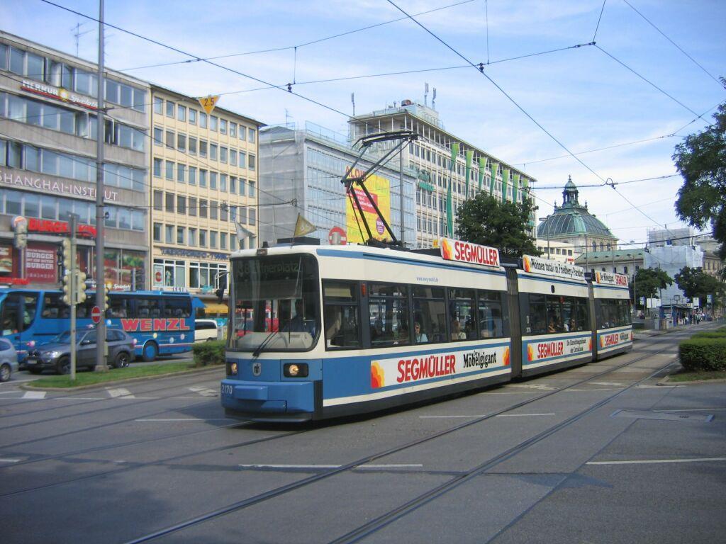 (131k, 1024x768)<br><b>Country:</b> Germany<br><b>City:</b> Munich<br><b>System:</b> MVG (Munchener Verkehrsgesellschaft)<br><b>Location:</b> Sonnenstrasse <br><b>Route:</b> 18<br><b>Car:</b> Siemens GT6N R2.2  2170 <br><b>Photo by:</b> Jos Straathof<br><b>Date:</b> 8/14/2008<br><b>Viewed (this week/total):</b> 1 / 522