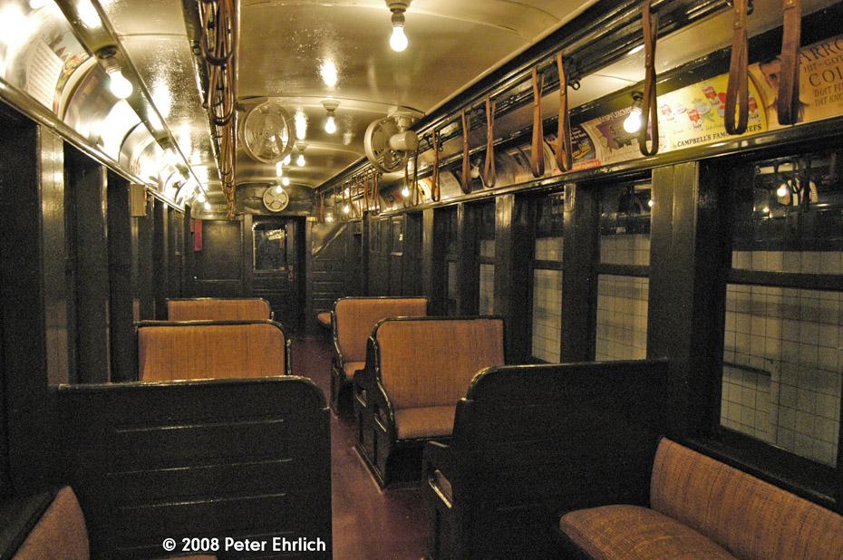 (271k, 930x618)<br><b>Country:</b> United States<br><b>City:</b> New York<br><b>System:</b> New York City Transit<br><b>Location:</b> New York Transit Museum<br><b>Car:</b> BMT Q 1612C <br><b>Photo by:</b> Peter Ehrlich<br><b>Date:</b> 9/30/2008<br><b>Notes:</b> Interior of BMT Q 1612 C.<br><b>Viewed (this week/total):</b> 1 / 1971