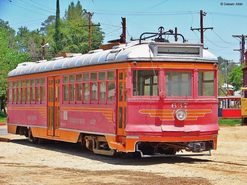 (215k, 800x600)<br><b>Country:</b> United States<br><b>City:</b> Perris, CA<br><b>System:</b> Orange Empire Railway Museum <br><b>Car:</b>  637 <br><b>Photo by:</b> Salaam Allah<br><b>Date:</b> 7/13/2007<br><b>Viewed (this week/total):</b> 2 / 1639