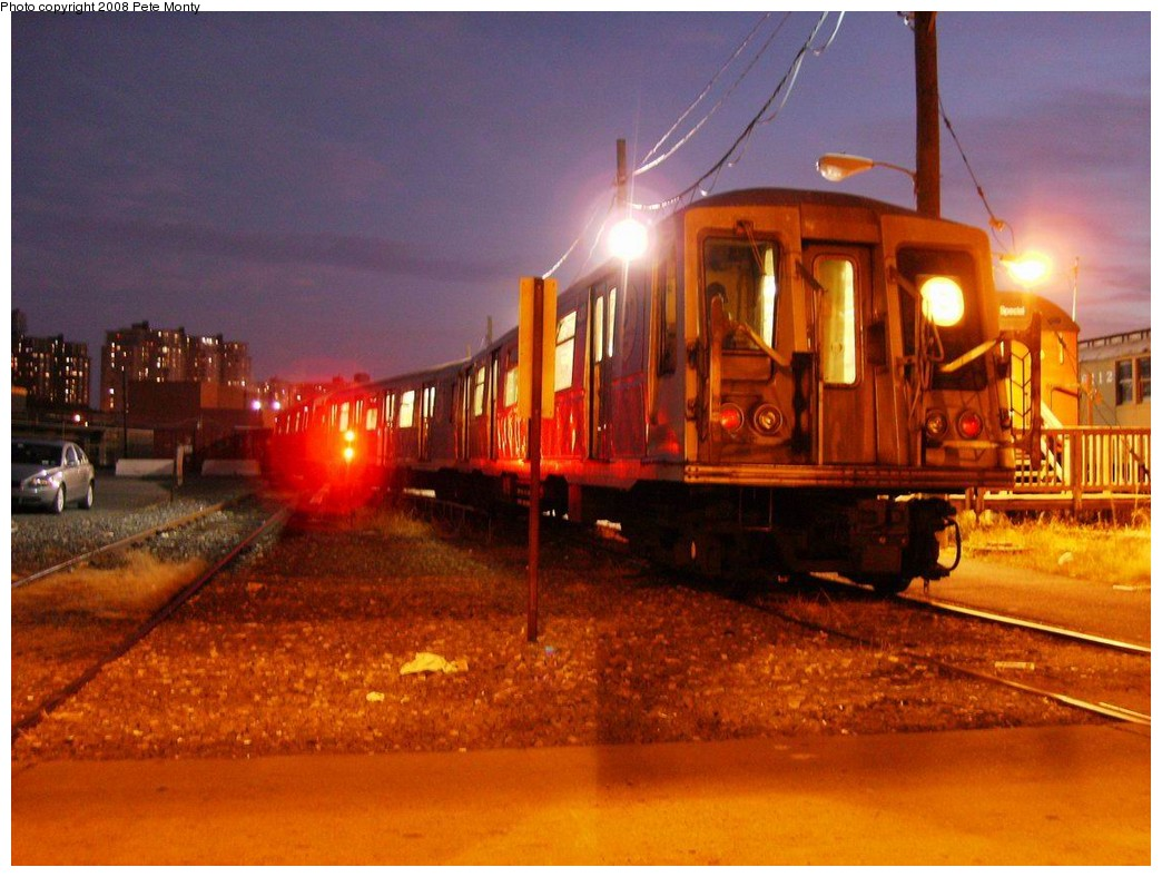(196k, 1044x788)<br><b>Country:</b> United States<br><b>City:</b> New York<br><b>System:</b> New York City Transit<br><b>Location:</b> Coney Island Yard<br><b>Car:</b> R-40 (St. Louis, 1968)   <br><b>Photo by:</b> Pete Monty<br><b>Date:</b> 10/14/2008<br><b>Viewed (this week/total):</b> 0 / 2103