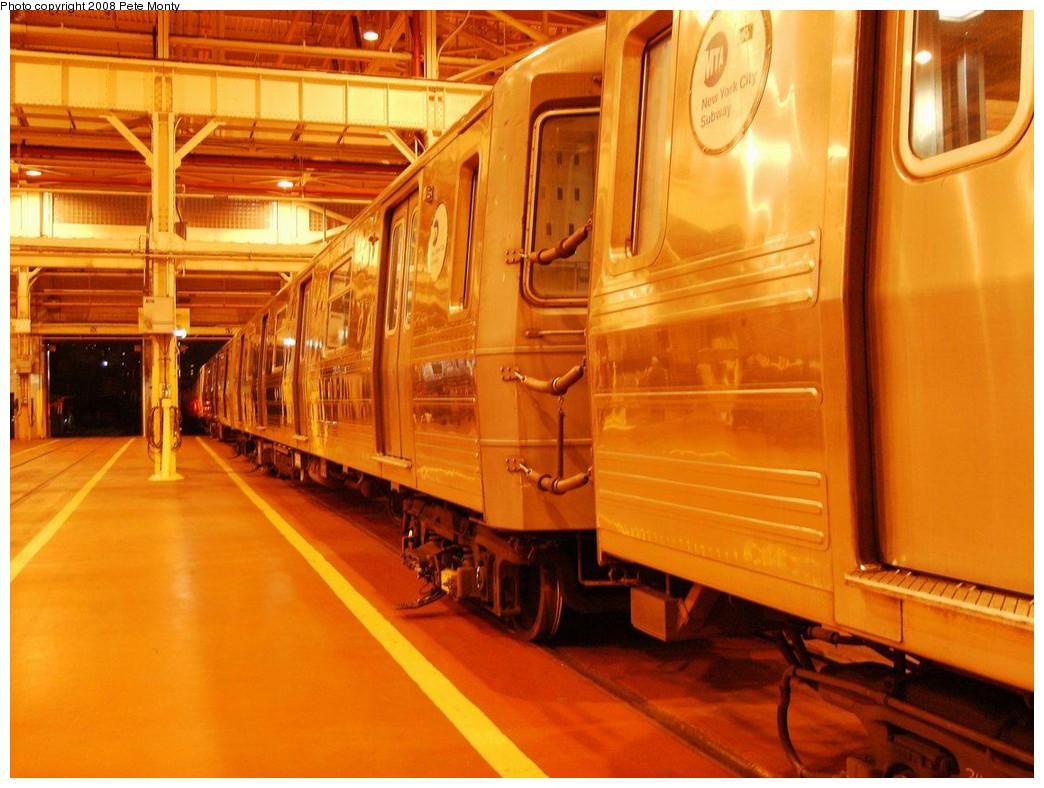 (195k, 1044x788)<br><b>Country:</b> United States<br><b>City:</b> New York<br><b>System:</b> New York City Transit<br><b>Location:</b> Coney Island Shop/Overhaul & Repair Shop<br><b>Car:</b> R-68A (Kawasaki, 1988-1989)   <br><b>Photo by:</b> Pete Monty<br><b>Date:</b> 10/14/2008<br><b>Viewed (this week/total):</b> 1 / 1204