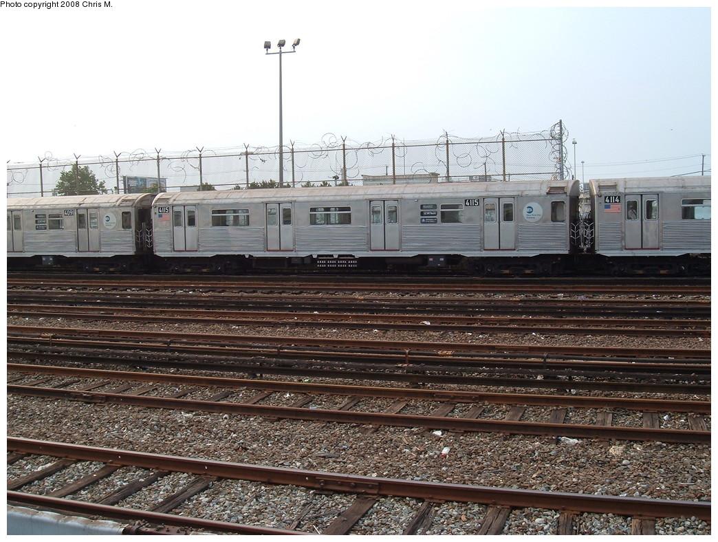 (275k, 1044x788)<br><b>Country:</b> United States<br><b>City:</b> New York<br><b>System:</b> New York City Transit<br><b>Location:</b> Rockaway Park Yard<br><b>Car:</b> R-38 (St. Louis, 1966-1967)  4115 <br><b>Photo by:</b> Chris M.<br><b>Date:</b> 7/22/2008<br><b>Viewed (this week/total):</b> 0 / 1456