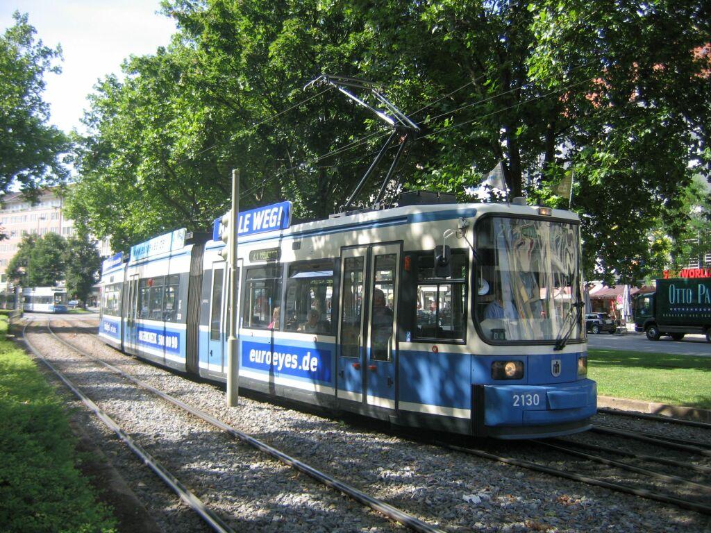 (214k, 1024x768)<br><b>Country:</b> Germany<br><b>City:</b> Munich<br><b>System:</b> MVG (Munchener Verkehrsgesellschaft)<br><b>Location:</b> Sonnenstrasse <br><b>Route:</b> 27<br><b>Car:</b> Siemens GT6N R2.2  2130 <br><b>Photo by:</b> Jos Straathof<br><b>Date:</b> 8/14/2008<br><b>Viewed (this week/total):</b> 0 / 457