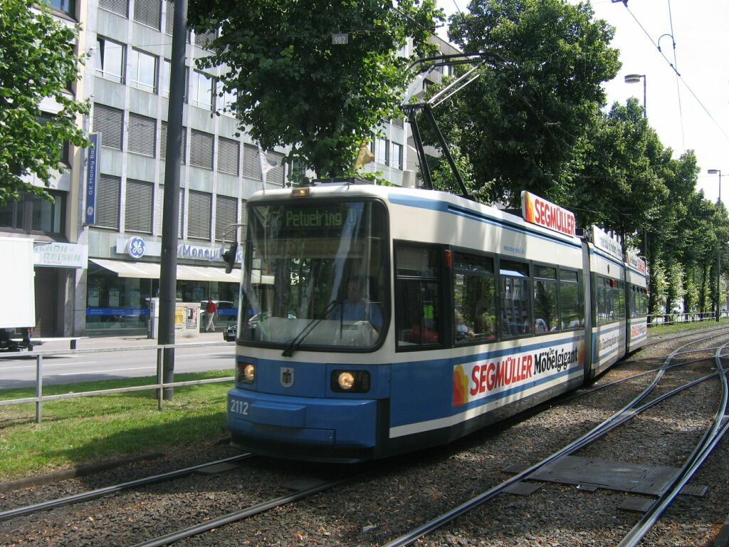 (199k, 1024x768)<br><b>Country:</b> Germany<br><b>City:</b> Munich<br><b>System:</b> MVG (Munchener Verkehrsgesellschaft)<br><b>Location:</b> Sonnenstrasse <br><b>Route:</b> 27<br><b>Car:</b> Siemens GT6N R2.2  2112 <br><b>Photo by:</b> Jos Straathof<br><b>Date:</b> 8/14/2008<br><b>Viewed (this week/total):</b> 0 / 345
