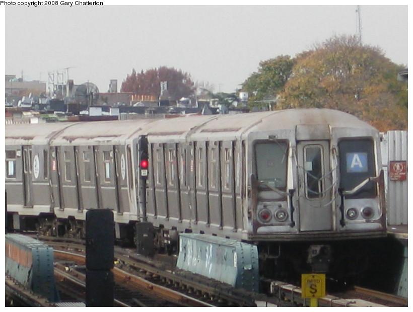 (114k, 820x620)<br><b>Country:</b> United States<br><b>City:</b> New York<br><b>System:</b> New York City Transit<br><b>Line:</b> IND Fulton Street Line<br><b>Location:</b> 80th Street/Hudson Street <br><b>Route:</b> A<br><b>Car:</b> R-40 (St. Louis, 1968)  4418 <br><b>Photo by:</b> Gary Chatterton<br><b>Date:</b> 11/12/2008<br><b>Viewed (this week/total):</b> 0 / 1125