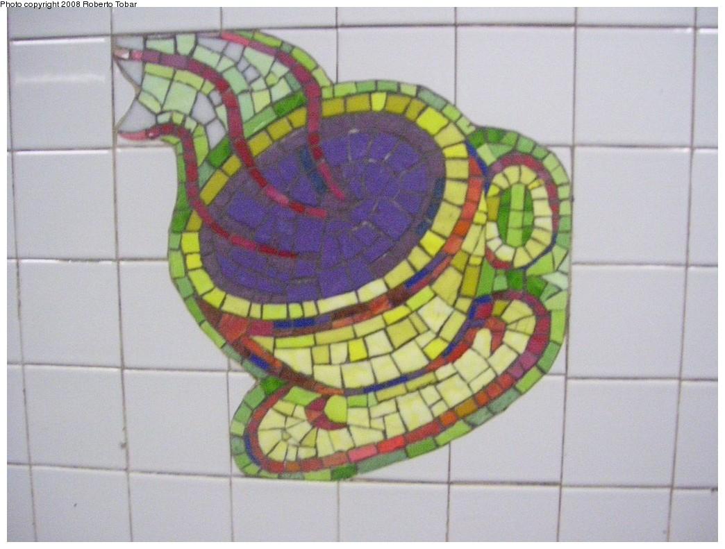 (190k, 1044x791)<br><b>Country:</b> United States<br><b>City:</b> New York<br><b>System:</b> New York City Transit<br><b>Line:</b> IRT East Side Line<br><b>Location:</b> 59th Street <br><b>Photo by:</b> Roberto C. Tobar<br><b>Date:</b> 11/7/2008<br><b>Artwork:</b> <i>Blooming</i>, Elizabeth Murray (1996).<br><b>Notes:</b> Express (lower) platform.<br><b>Viewed (this week/total):</b> 2 / 2489