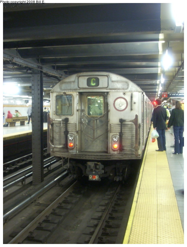 (147k, 620x820)<br><b>Country:</b> United States<br><b>City:</b> New York<br><b>System:</b> New York City Transit<br><b>Line:</b> IND 8th Avenue Line<br><b>Location:</b> 14th Street <br><b>Route:</b> C<br><b>Car:</b> R-38 (St. Louis, 1966-1967)  3971 <br><b>Photo by:</b> Bill E.<br><b>Date:</b> 9/27/2008<br><b>Viewed (this week/total):</b> 0 / 2014