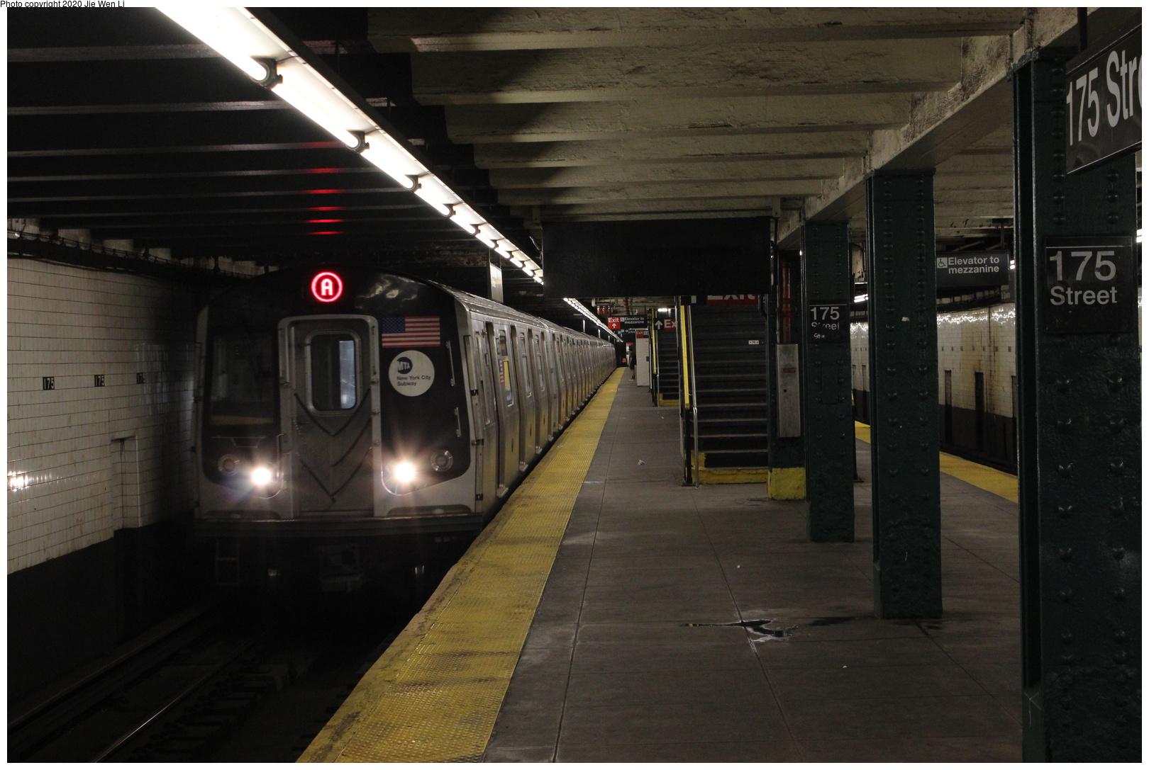 (229k, 1044x684)<br><b>Country:</b> United States<br><b>City:</b> New York<br><b>System:</b> New York City Transit<br><b>Line:</b> IRT Flushing Line<br><b>Location:</b> 90th Street/Elmhurst Avenue <br><b>Route:</b> 7<br><b>Car:</b> R-17 (St. Louis, 1955-56)  <br><b>Photo by:</b> Joel Shanus<br><b>Date:</b> 1962<br><b>Viewed (this week/total):</b> 1 / 2672