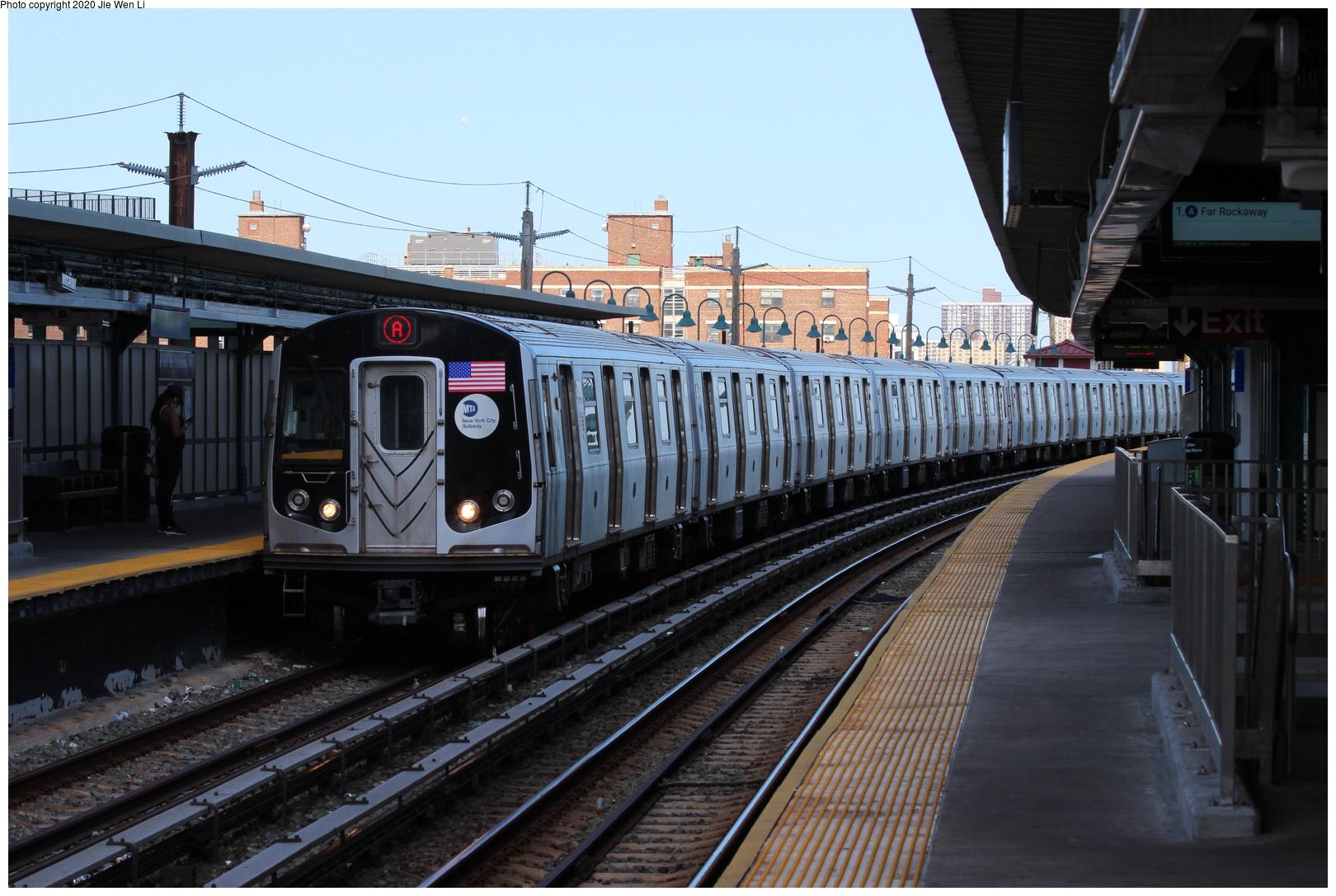 (201k, 1044x988)<br><b>Country:</b> United States<br><b>City:</b> New York<br><b>System:</b> New York City Transit<br><b>Line:</b> IND Fulton Street Line<br><b>Location:</b> Lefferts Boulevard <br><b>Car:</b> BMT C  <br><b>Photo by:</b> Joel Shanus<br><b>Notes:</b> Maybe Rockaway Ave./Fulton line?<br><b>Viewed (this week/total):</b> 0 / 2221