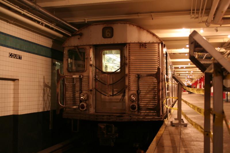 (125k, 800x533)<br><b>Country:</b> United States<br><b>City:</b> New York<br><b>System:</b> New York City Transit<br><b>Location:</b> New York Transit Museum<br><b>Car:</b> R-32 (Budd, 1964)  3352 <br><b>Photo by:</b> Neil Feldman<br><b>Date:</b> 11/14/2008<br><b>Viewed (this week/total):</b> 0 / 3726