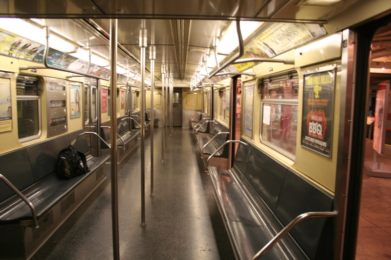 (144k, 800x533)<br><b>Country:</b> United States<br><b>City:</b> New York<br><b>System:</b> New York City Transit<br><b>Location:</b> New York Transit Museum<br><b>Car:</b> R-32 (Budd, 1964)  3352 <br><b>Photo by:</b> Neil Feldman<br><b>Date:</b> 11/14/2008<br><b>Viewed (this week/total):</b> 0 / 2585