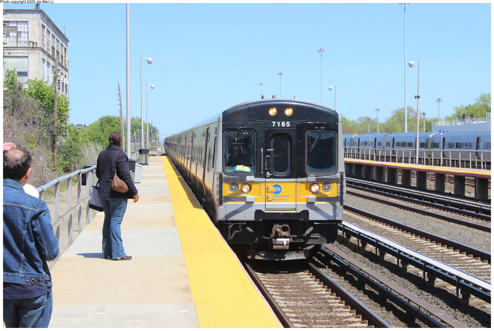 (719k, 1620x1087)<br><b>Country:</b> United States<br><b>City:</b> New York<br><b>System:</b> Long Island Rail Road<br><b>Location:</b> LIRR Holban-Hillside Maint. Complex/Yard<br><b>Car:</b> LIRR M-7 EMU (Bombardier) 7165 <br><b>Photo by:</b> Jie Wen Li<br><b>Date:</b> 5/11/2019<br><b>Notes:</b> Shop tour sponsored by ERA.<br><b>Viewed (this week/total):</b> 6 / 48