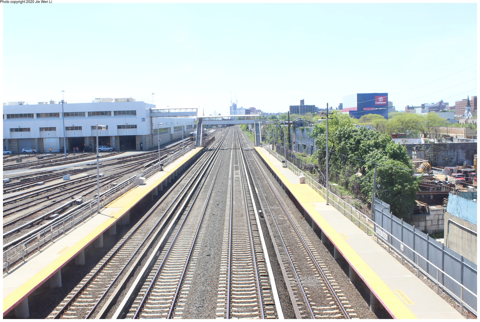 (850k, 1620x1087)<br><b>Country:</b> United States<br><b>City:</b> New York<br><b>System:</b> Long Island Rail Road<br><b>Location:</b> LIRR Holban-Hillside Maint. Complex/Yard<br><b>Photo by:</b> Jie Wen Li<br><b>Date:</b> 5/11/2019<br><b>Notes:</b> Shop tour sponsored by ERA. Overpass view towards Jamaica.<br><b>Viewed (this week/total):</b> 3 / 46