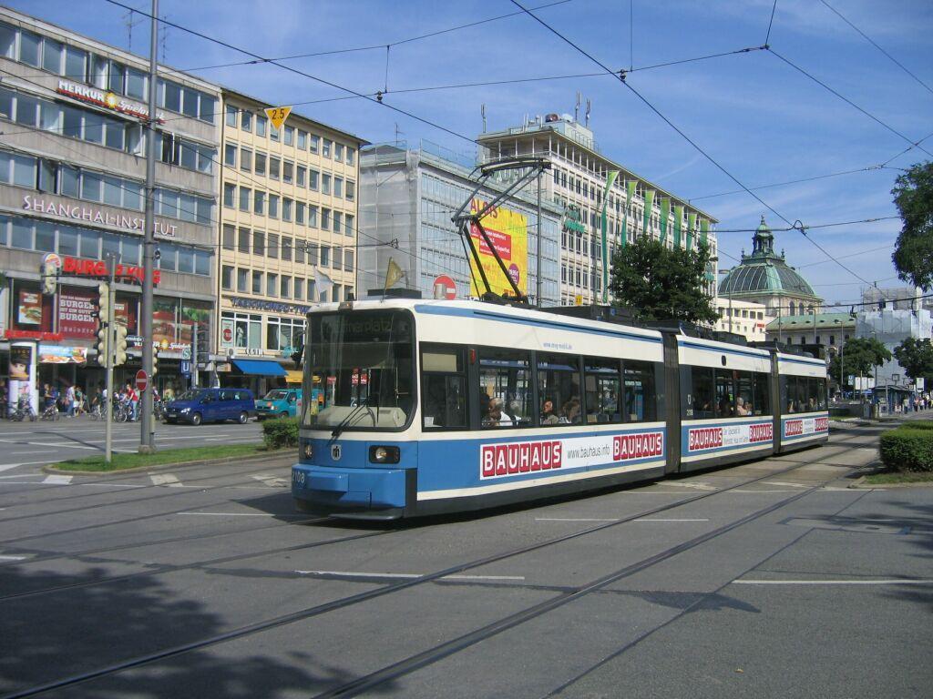 (146k, 1024x768)<br><b>Country:</b> Germany<br><b>City:</b> Munich<br><b>System:</b> MVG (Munchener Verkehrsgesellschaft)<br><b>Location:</b> Sonnenstrasse <br><b>Route:</b> 17<br><b>Car:</b> Siemens GT6N R2.2  2108 <br><b>Photo by:</b> Jos Straathof<br><b>Date:</b> 8/14/2008<br><b>Viewed (this week/total):</b> 0 / 435