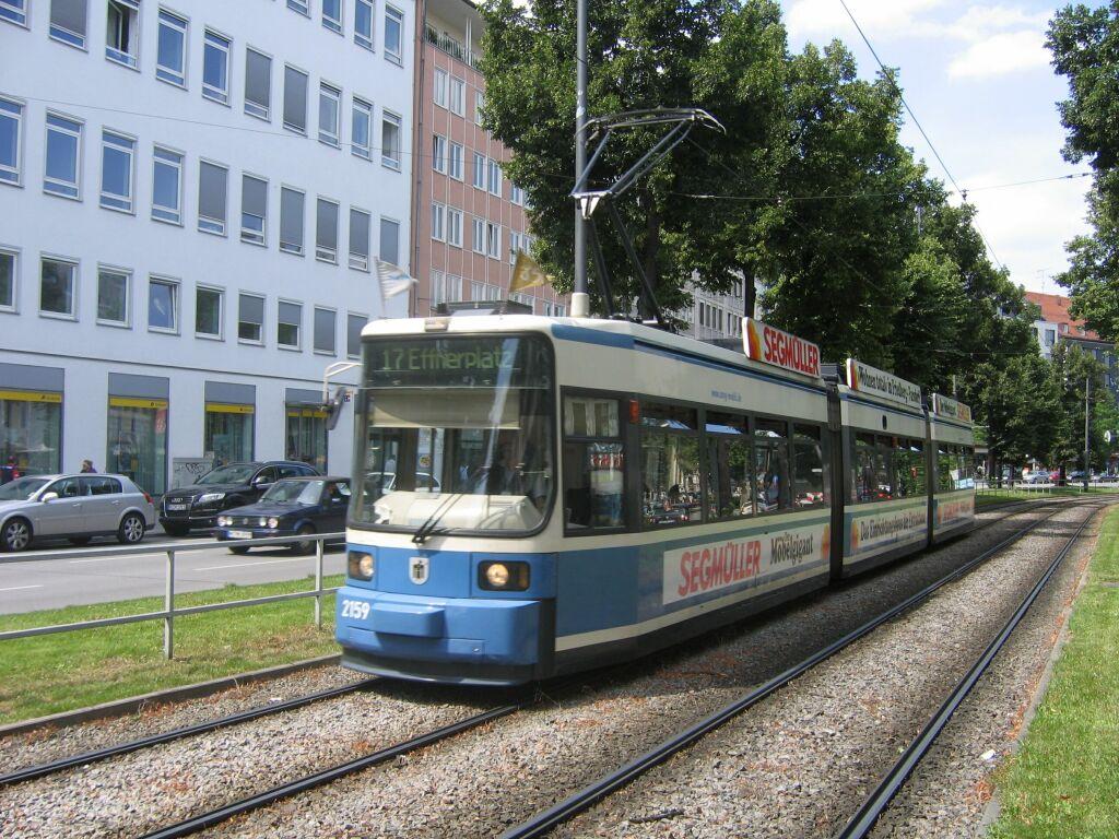(196k, 1024x768)<br><b>Country:</b> Germany<br><b>City:</b> Munich<br><b>System:</b> MVG (Munchener Verkehrsgesellschaft)<br><b>Location:</b> Sonnenstrasse <br><b>Route:</b> 17<br><b>Car:</b> Siemens GT6N R2.2  2159 <br><b>Photo by:</b> Jos Straathof<br><b>Date:</b> 8/14/2008<br><b>Viewed (this week/total):</b> 0 / 465