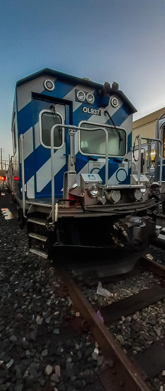 (381k, 1012x1044)<br><b>Country:</b> United States<br><b>City:</b> New York<br><b>System:</b> New York City Transit<br><b>Line:</b> BMT Myrtle Avenue Line<br><b>Location:</b> Bridge/Jay Street <br><b>Car:</b> BMT Elevated Gate Car 13xx <br><b>Photo by:</b> Joel Shanus<br><b>Viewed (this week/total):</b> 0 / 4144
