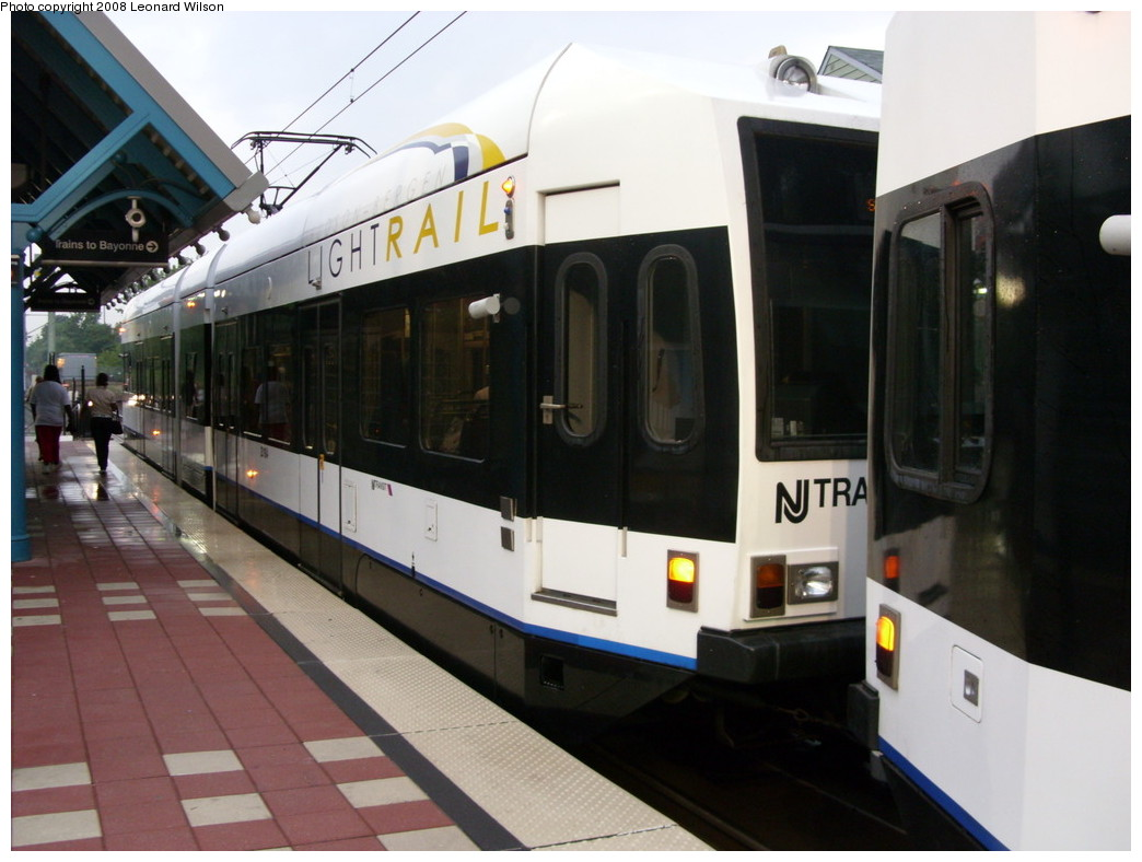 (207k, 1044x788)<br><b>Country:</b> United States<br><b>City:</b> Jersey City, NJ<br><b>System:</b> Hudson Bergen Light Rail<br><b>Location:</b> Richard Street <br><b>Car:</b> NJT-HBLR LRV (Kinki-Sharyo, 1998-99)   <br><b>Photo by:</b> Leonard Wilson<br><b>Date:</b> 8/15/2008<br><b>Viewed (this week/total):</b> 0 / 893