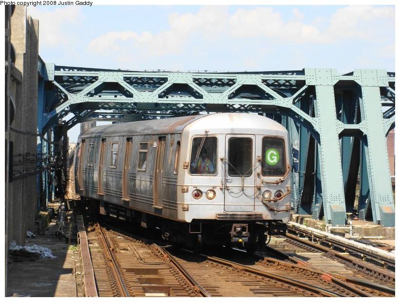 (170k, 820x620)<br><b>Country:</b> United States<br><b>City:</b> New York<br><b>System:</b> New York City Transit<br><b>Line:</b> IND Crosstown Line<br><b>Location:</b> 4th Avenue <br><b>Route:</b> G<br><b>Car:</b> R-46 (Pullman-Standard, 1974-75)  <br><b>Photo by:</b> Justin Gaddy<br><b>Date:</b> 8/18/2008<br><b>Viewed (this week/total):</b> 1 / 1439