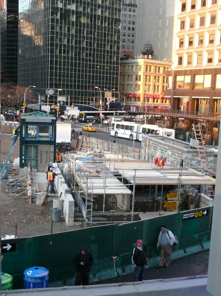 (159k, 767x1024)<br><b>Country:</b> United States<br><b>City:</b> New York<br><b>System:</b> New York City Transit<br><b>Line:</b> IRT West Side Line<br><b>Location:</b> South Ferry (New Station) <br><b>Photo by:</b> Robbie Rosenfeld<br><b>Date:</b> 12/1/2008<br><b>Viewed (this week/total):</b> 0 / 1560