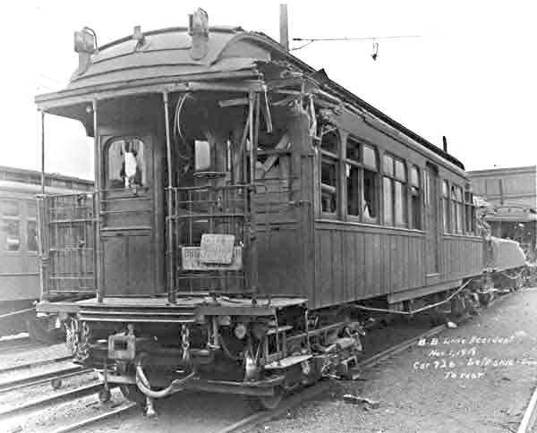 (125k, 600x484)<br><b>Country:</b> United States<br><b>City:</b> New York<br><b>System:</b> New York City Transit<br><b>Location:</b> 36th Street Yard<br><b>Collection of:</b> NYCTA File Photo<br><b>Date:</b> 1918<br><b>Notes:</b> Malbone Street accident.<br><b>Viewed (this week/total):</b> 2 / 1170