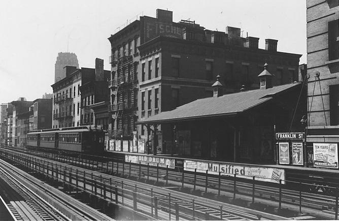 (117k, 668x435)<br><b>Country:</b> United States<br><b>City:</b> New York<br><b>System:</b> New York City Transit<br><b>Line:</b> 9th Avenue El<br><b>Location:</b> Franklin Street <br><b>Viewed (this week/total):</b> 0 / 1639
