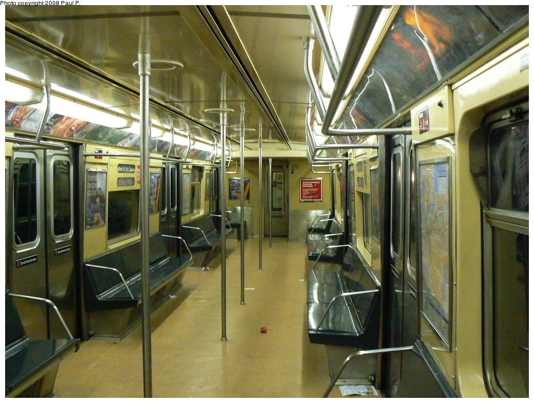 (314k, 1044x788)<br><b>Country:</b> United States<br><b>City:</b> New York<br><b>System:</b> New York City Transit<br><b>Route:</b> B<br><b>Car:</b> R-40 (St. Louis, 1968)  4306 <br><b>Photo by:</b> Paul P.<br><b>Date:</b> 11/6/2008<br><b>Viewed (this week/total):</b> 0 / 1037