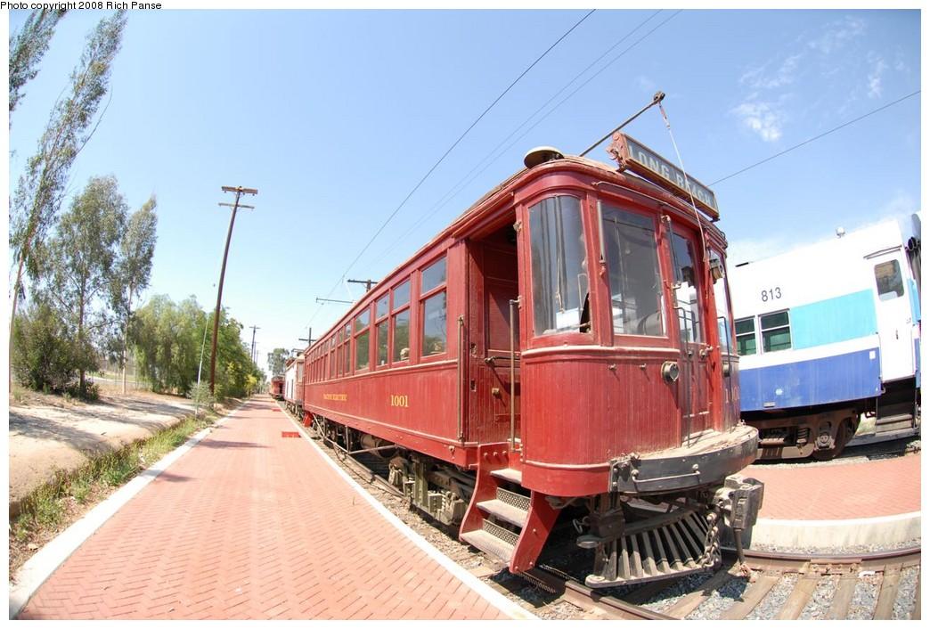 (229k, 1044x706)<br><b>Country:</b> United States<br><b>City:</b> Perris, CA<br><b>System:</b> Orange Empire Railway Museum <br><b>Car:</b>  1001 <br><b>Photo by:</b> Richard Panse<br><b>Date:</b> 6/14/2008<br><b>Viewed (this week/total):</b> 0 / 786