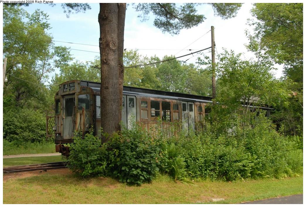 (318k, 1044x706)<br><b>Country:</b> United States<br><b>City:</b> Kennebunk, ME<br><b>System:</b> Seashore Trolley Museum <br><b>Car:</b> R-4 (American Car & Foundry, 1932-1933) 800 <br><b>Photo by:</b> Richard Panse<br><b>Date:</b> 7/18/2008<br><b>Viewed (this week/total):</b> 0 / 1131