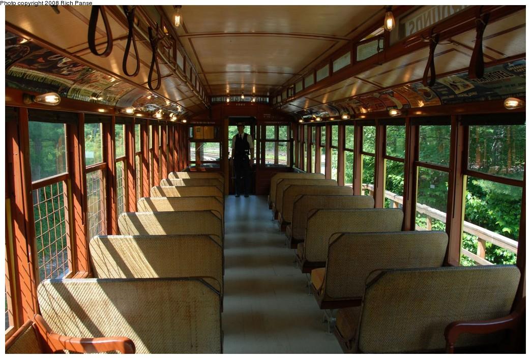 (246k, 1044x706)<br><b>Country:</b> United States<br><b>City:</b> Kennebunk, ME<br><b>System:</b> Seashore Trolley Museum <br><b>Car:</b>  1267 <br><b>Photo by:</b> Richard Panse<br><b>Date:</b> 7/18/2008<br><b>Viewed (this week/total):</b> 3 / 593