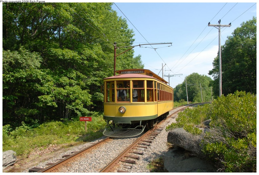 (314k, 1044x706)<br><b>Country:</b> United States<br><b>City:</b> Kennebunk, ME<br><b>System:</b> Seashore Trolley Museum <br><b>Car:</b>  1267 <br><b>Photo by:</b> Richard Panse<br><b>Date:</b> 7/18/2008<br><b>Viewed (this week/total):</b> 0 / 590