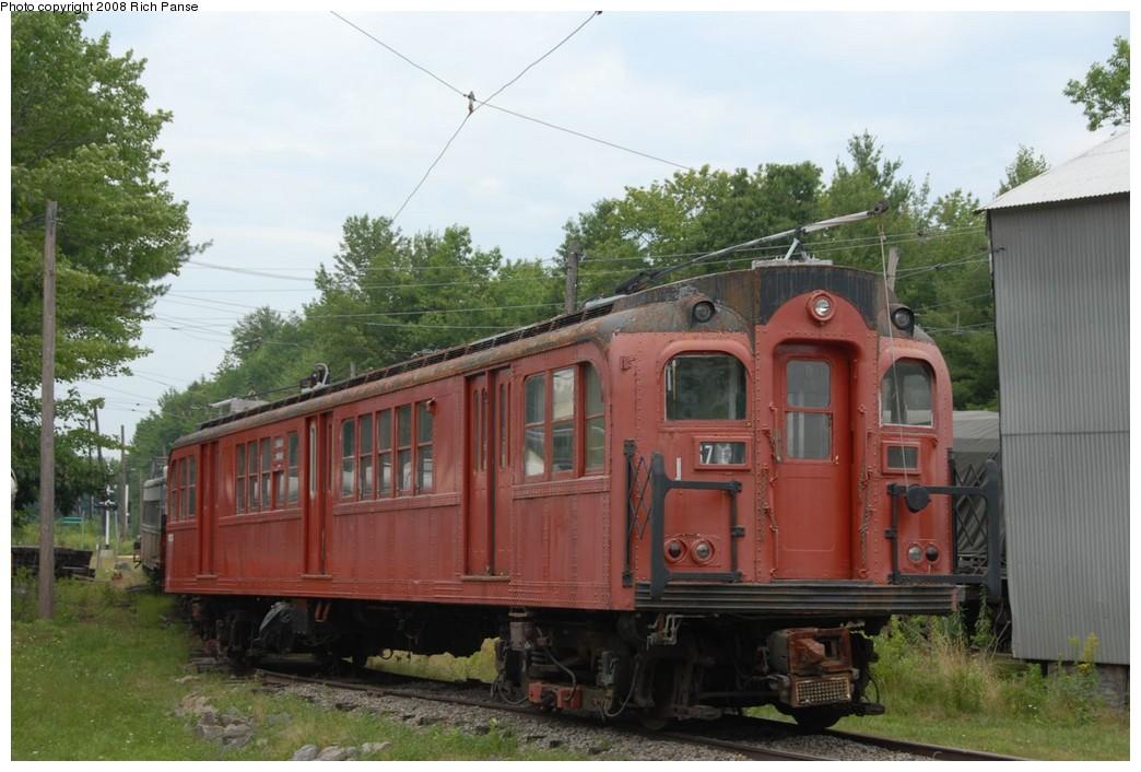 (205k, 1044x706)<br><b>Country:</b> United States<br><b>City:</b> Kennebunk, ME<br><b>System:</b> Seashore Trolley Museum <br><b>Car:</b> PTC/SEPTA B-2 DRPA Bridge Line (J.G. Brill, 1936)  1018 <br><b>Photo by:</b> Richard Panse<br><b>Date:</b> 7/18/2008<br><b>Viewed (this week/total):</b> 1 / 1043