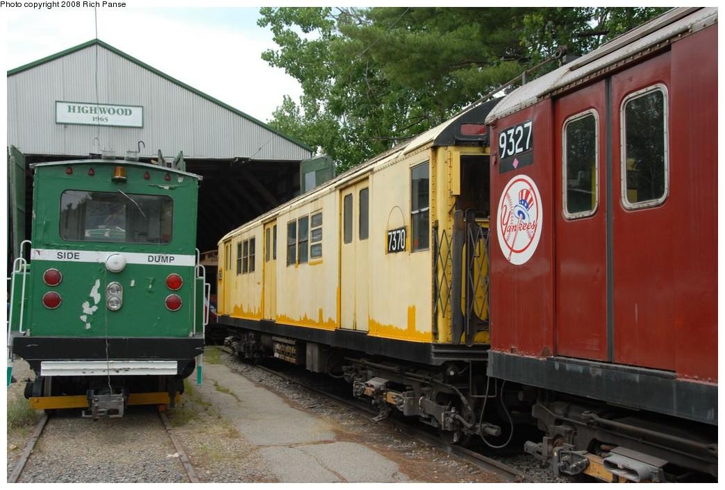 (224k, 1044x706)<br><b>Country:</b> United States<br><b>City:</b> Kennebunk, ME<br><b>System:</b> Seashore Trolley Museum <br><b>Car:</b> R-22 (St. Louis, 1957-58) 37371 <br><b>Photo by:</b> Richard Panse<br><b>Date:</b> 7/18/2008<br><b>Notes:</b> Car is really 7371 not 7370<br><b>Viewed (this week/total):</b> 0 / 1410