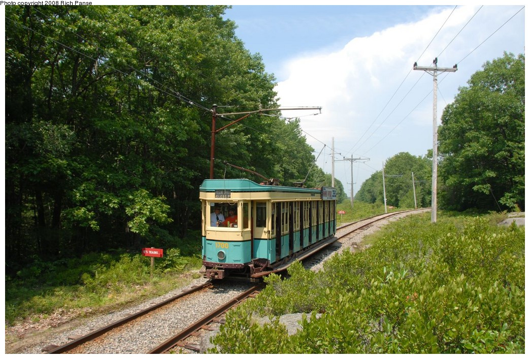 (292k, 1044x706)<br><b>Country:</b> United States<br><b>City:</b> Kennebunk, ME<br><b>System:</b> Seashore Trolley Museum <br><b>Car:</b>  1700 <br><b>Photo by:</b> Richard Panse<br><b>Date:</b> 7/18/2008<br><b>Viewed (this week/total):</b> 0 / 479