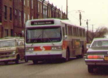 (28k, 372x271)<br><b>Country:</b> United States<br><b>City:</b> Philadelphia, PA<br><b>System:</b> SEPTA (or Predecessor)<br><b>Line:</b> SEPTA Trackless Trolley Routes<br><b>Car:</b> PTC/SEPTA AM General 10240-E Trackless (1979)  <br><b>Photo by:</b> Bob Wright<br><b>Date:</b> 1981<br><b>Viewed (this week/total):</b> 0 / 1179
