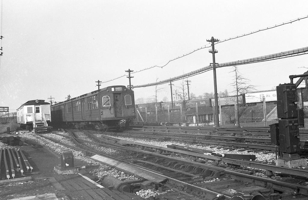 (268k, 820x556)<br><b>Country:</b> United States<br><b>City:</b> New York<br><b>System:</b> New York City Transit<br><b>Line:</b> BMT Brighton Line<br><b>Location:</b> Avenue M <br><b>Route:</b> Fan Trip<br><b>Car:</b> Low-V (Museum Train) 5483 <br><b>Photo by:</b> Joel Shanus<br><b>Date:</b> 11/14/1965<br><b>Viewed (this week/total):</b> 0 / 1426
