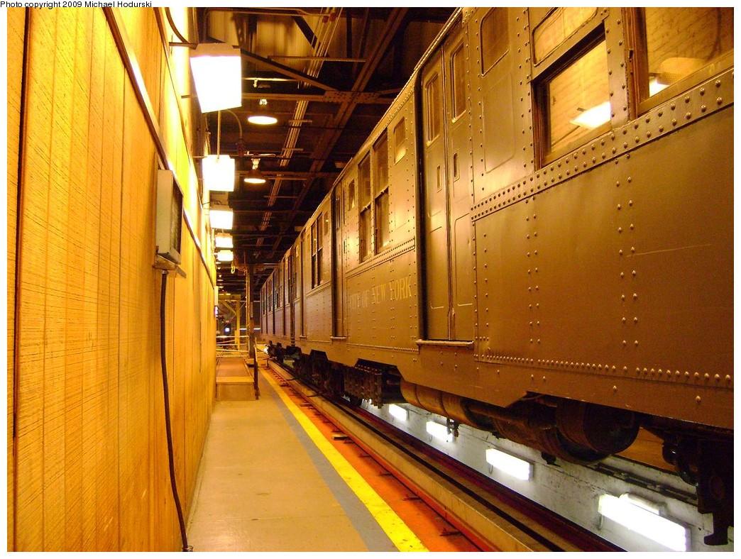 (269k, 1044x788)<br><b>Country:</b> United States<br><b>City:</b> New York<br><b>System:</b> New York City Transit<br><b>Location:</b> 207th Street Shop<br><b>Car:</b> R-9 (Pressed Steel, 1940)  1802 <br><b>Photo by:</b> Michael Hodurski<br><b>Date:</b> 12/27/2008<br><b>Viewed (this week/total):</b> 1 / 1160