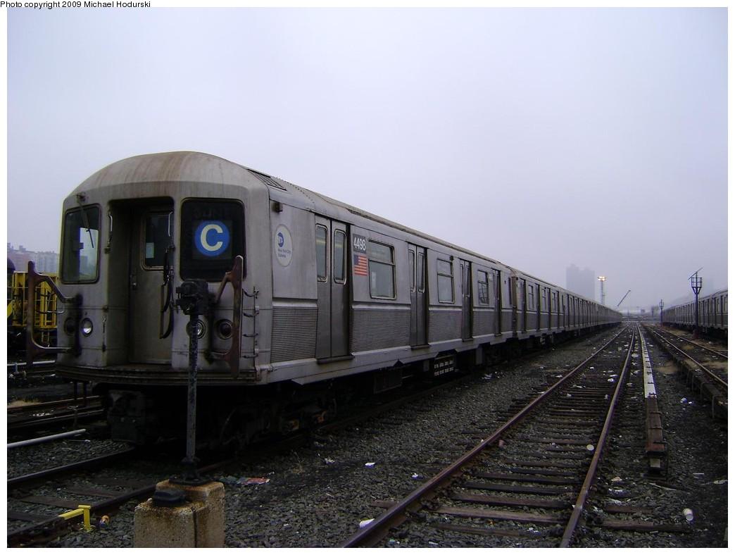 (189k, 1044x788)<br><b>Country:</b> United States<br><b>City:</b> New York<br><b>System:</b> New York City Transit<br><b>Location:</b> 207th Street Yard<br><b>Car:</b> R-40M (St. Louis, 1969)  4498 <br><b>Photo by:</b> Michael Hodurski<br><b>Date:</b> 12/27/2008<br><b>Viewed (this week/total):</b> 0 / 1310