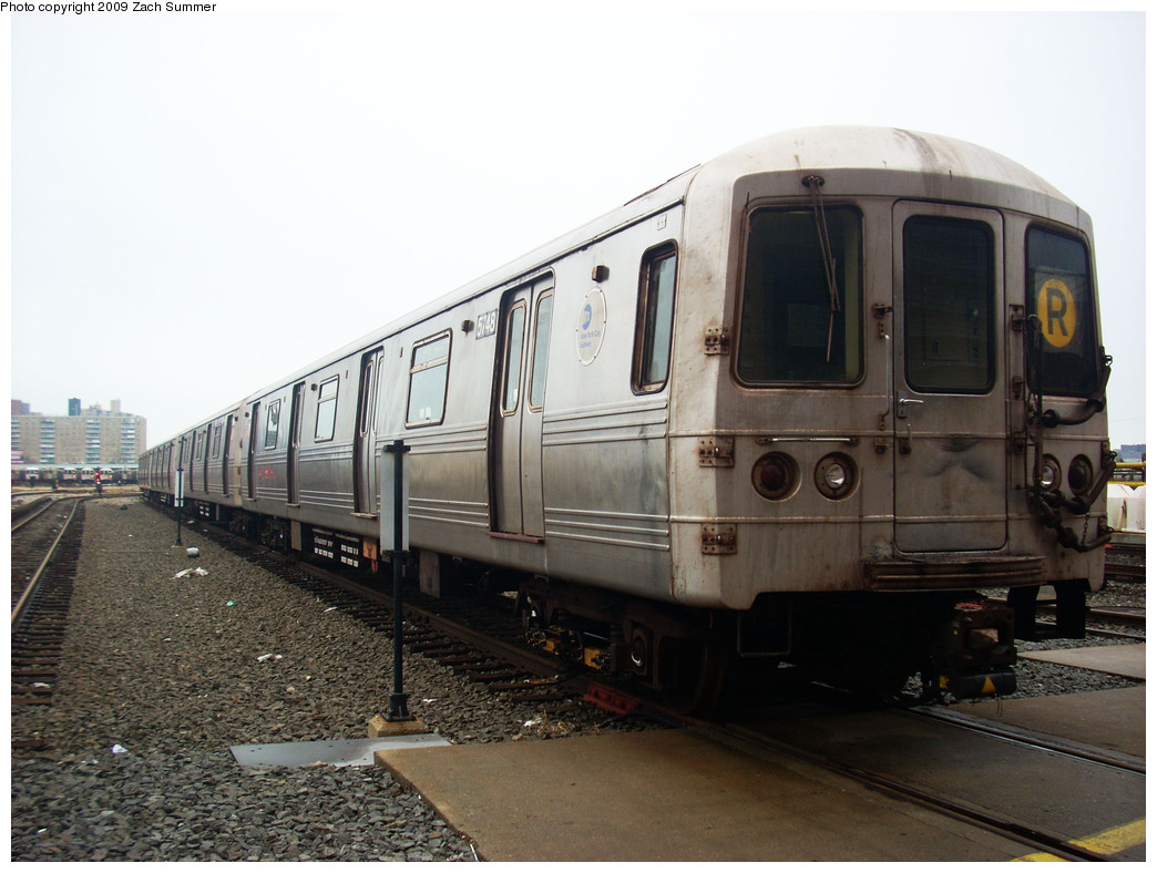 (231k, 1044x788)<br><b>Country:</b> United States<br><b>City:</b> New York<br><b>System:</b> New York City Transit<br><b>Location:</b> Coney Island Yard<br><b>Car:</b> R-46 (Pullman-Standard, 1974-75) 5748 <br><b>Photo by:</b> Zach Summer<br><b>Date:</b> 12/27/2008<br><b>Viewed (this week/total):</b> 1 / 1300