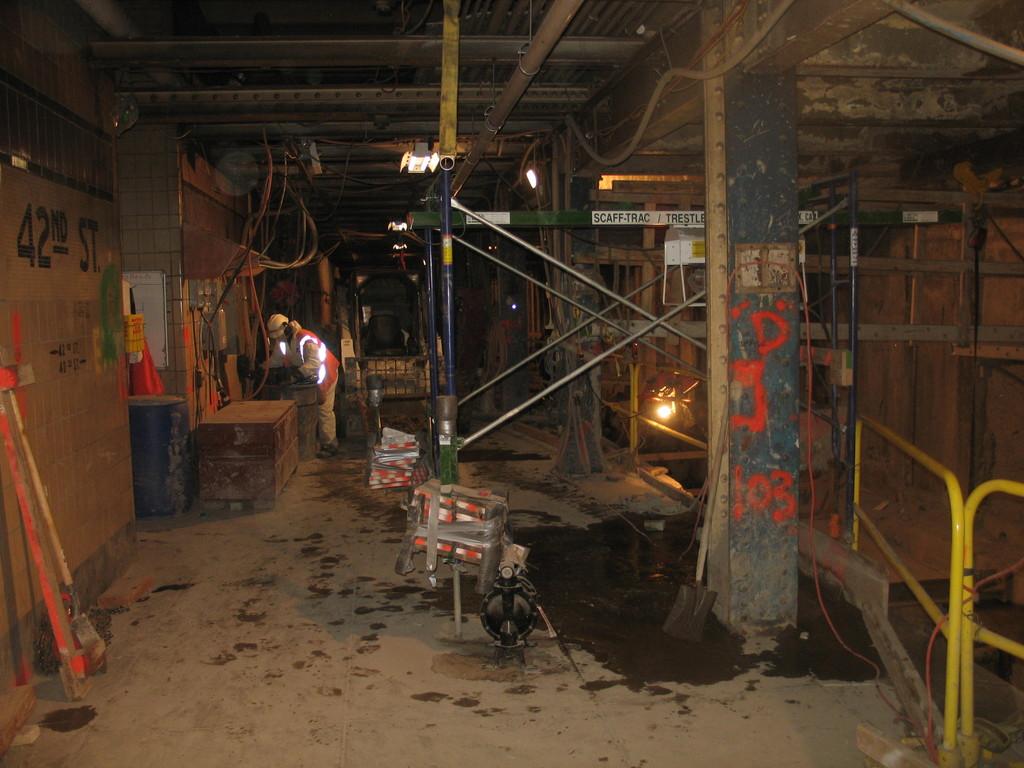 (204k, 1024x768)<br><b>Country:</b> United States<br><b>City:</b> New York<br><b>System:</b> New York City Transit<br><b>Line:</b> IND 8th Avenue Line<br><b>Location:</b> 42nd Street/Port Authority Bus Terminal (Lower Level) <br><b>Date:</b> 1/13/2009<br><b>Viewed (this week/total):</b> 2 / 2741