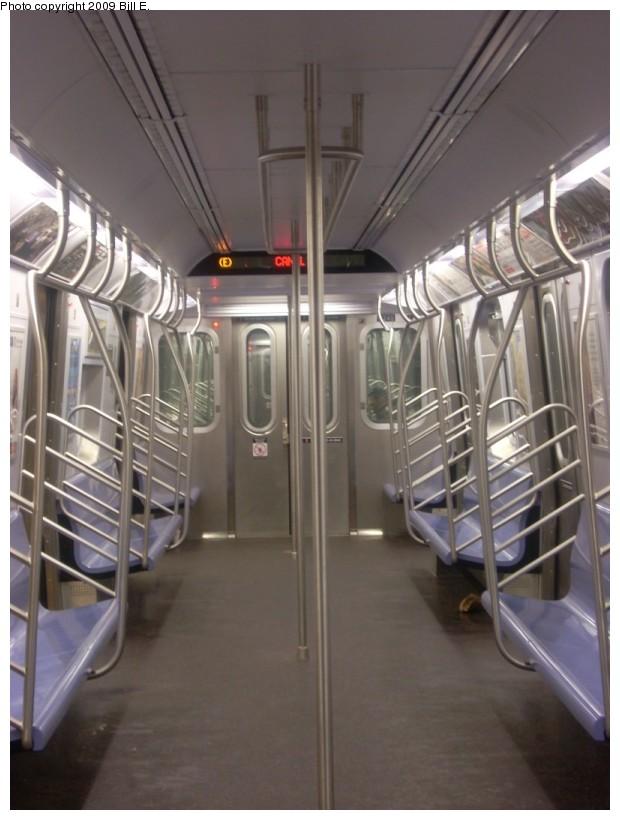 (141k, 620x820)<br><b>Country:</b> United States<br><b>City:</b> New York<br><b>System:</b> New York City Transit<br><b>Route:</b> E<br><b>Car:</b> R-160A (Option 1) (Alstom, 2008-2009, 5 car sets)  9245 <br><b>Photo by:</b> Bill E.<br><b>Date:</b> 1/18/2009<br><b>Viewed (this week/total):</b> 0 / 1436