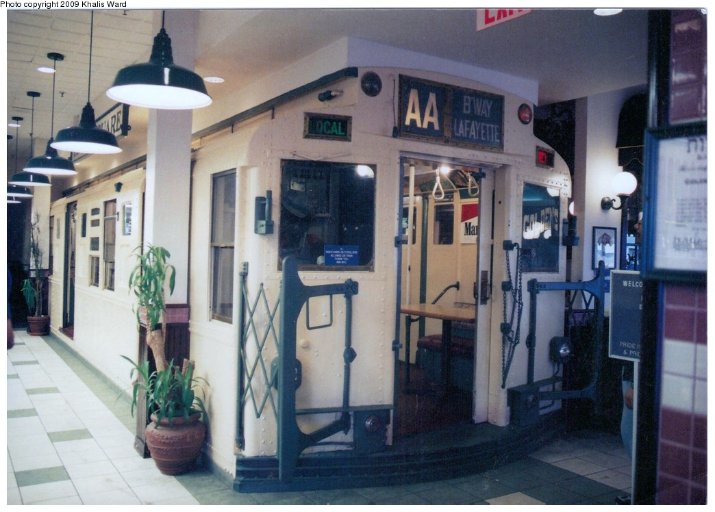 (196k, 1044x748)<br><b>Country:</b> United States<br><b>City:</b> New York<br><b>System:</b> New York City Transit<br><b>Location:</b> Golden's Deli - Staten Island Mall<br><b>Car:</b> R-6-3 (American Car & Foundry, 1935) 978 <br><b>Photo by:</b> Khalis Ward<br><b>Viewed (this week/total):</b> 0 / 5744